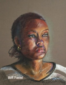 Pastel portretten van Joke Klootwijk